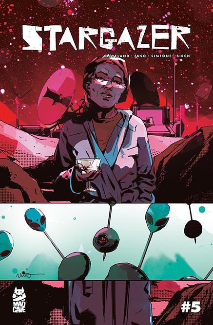 Stargazer #5 - Cover