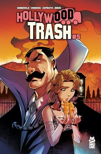 Hollywood Trash 5 - Cover