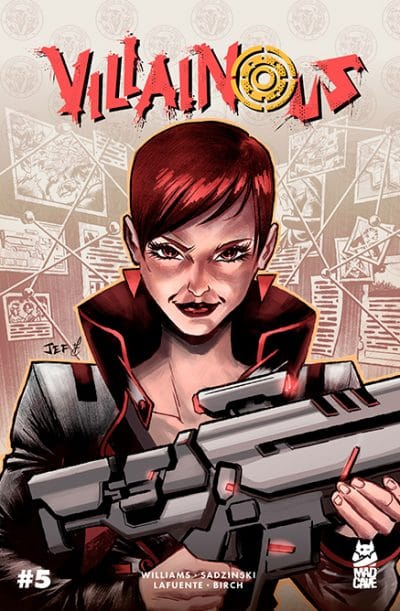 Villainous 5 - Cover