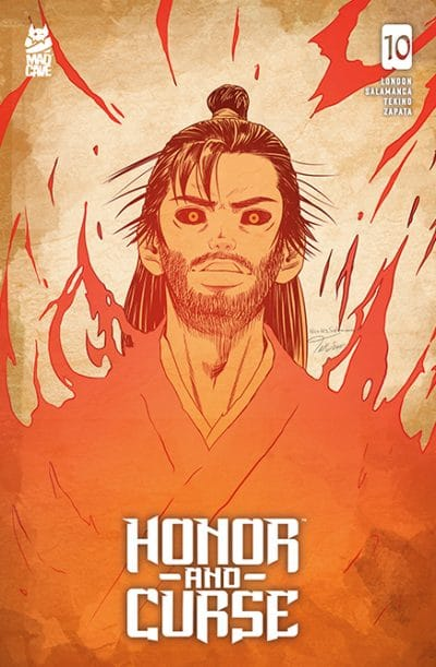 Honor and Curse 10 - Cover