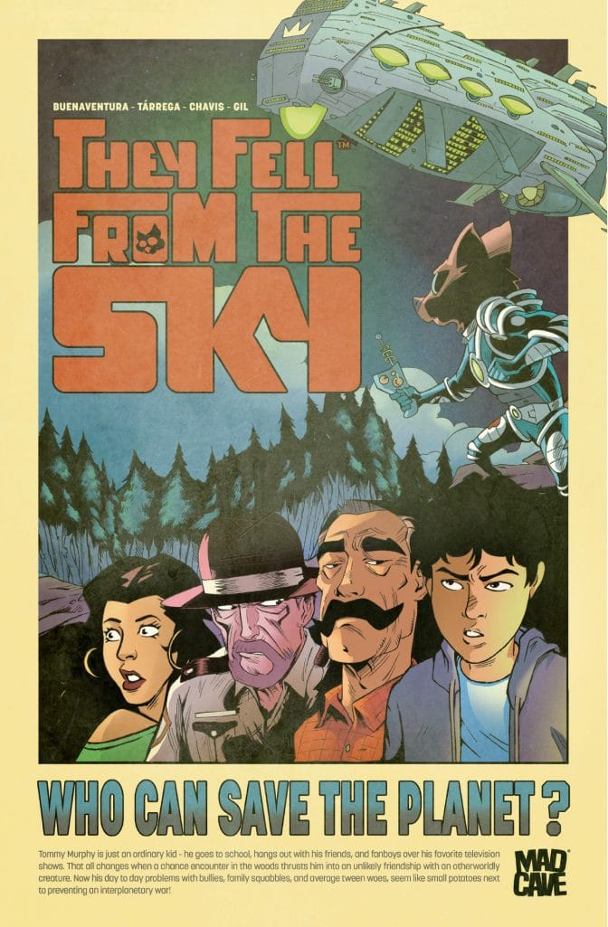 They Fell From The Sky Poster
