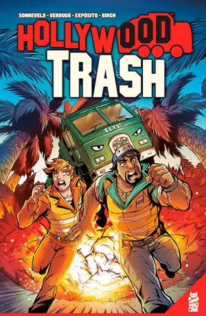 Hollywood Trash TPB - Cover