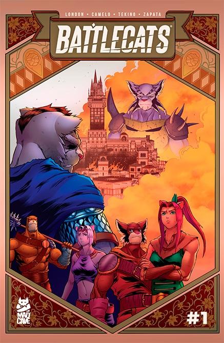 Battlecats 1 Vol 3 - Cover