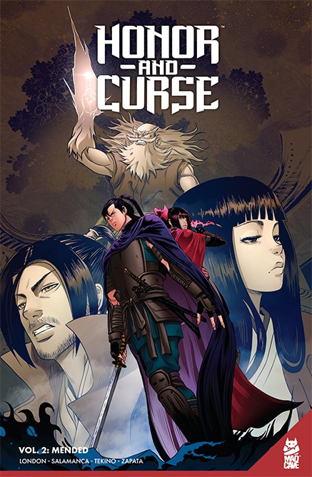 Honor and Curse Vol.2 TPB - Cover