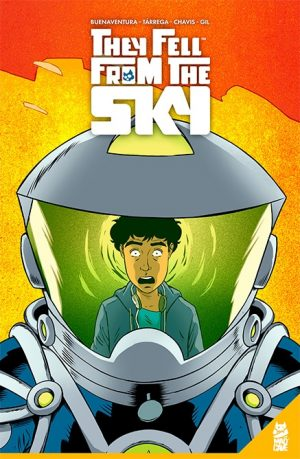 They Fell From the Sky TPB - Cover