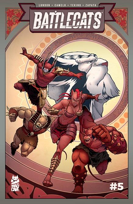 Battlecats 5 Vol 3